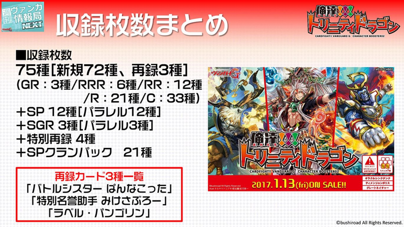 【最安カートン予約】VG「俺達トリニティドラゴン」がカートン定価より2万円以上安い激安特価!