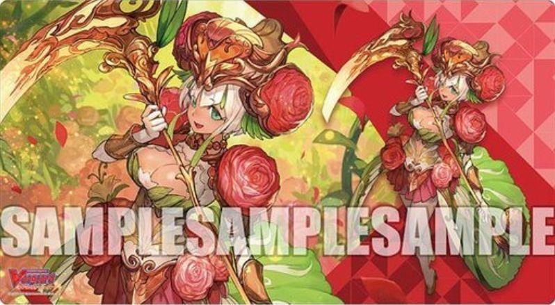【プレイマット】ラナンキュラスの花乙女 アーシャ(収録:トライアルデッキ Ahsha)のファイターズラバープレイマットが2020年3月27日に発売!