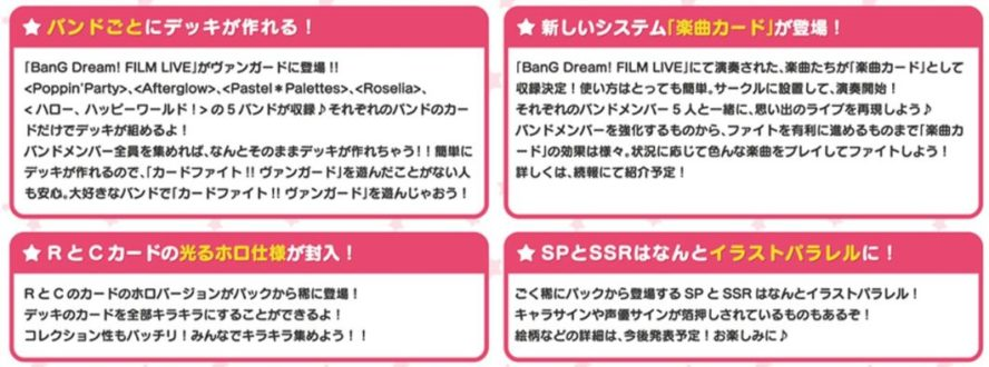 【サイン】タイトルブースター「BanG Dream! FILM LIVE」にバンドリ!の声優サイン&キャラクターサインカードがSSR&SPとして収録決定!