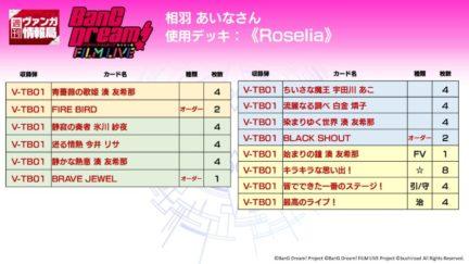 Roseliaデッキ(タイトルブースター BanG Dream! FILM LIVE ヴァンガード)