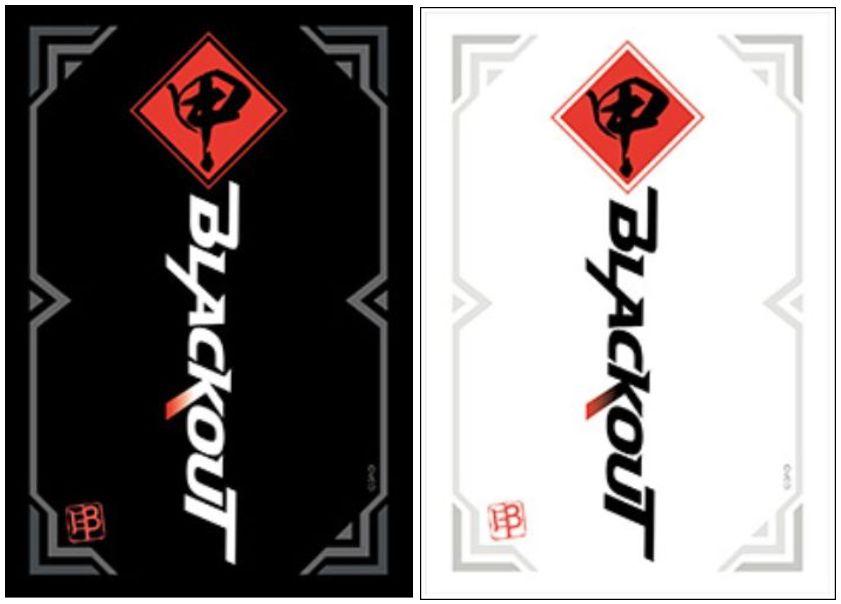 【VGスリーブ】チームブラックアウトのスリーブが2021年6月25日に「伝説との邂逅」と同時発売決定!ブラックVer.とホワイトVer.の2種類が発売!